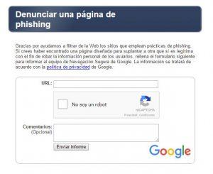 Phishing Google Ciberataques