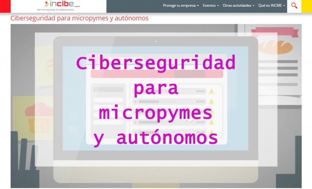 Ciberseguridad pymes y autónomos