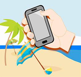 Marketing móvil en verano