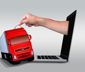 Empresas de transporte para comercio online