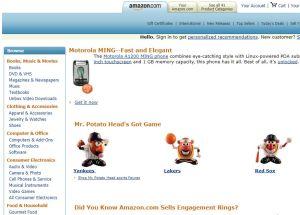 ¿Cómo era la web de Amazon hace 10 años?