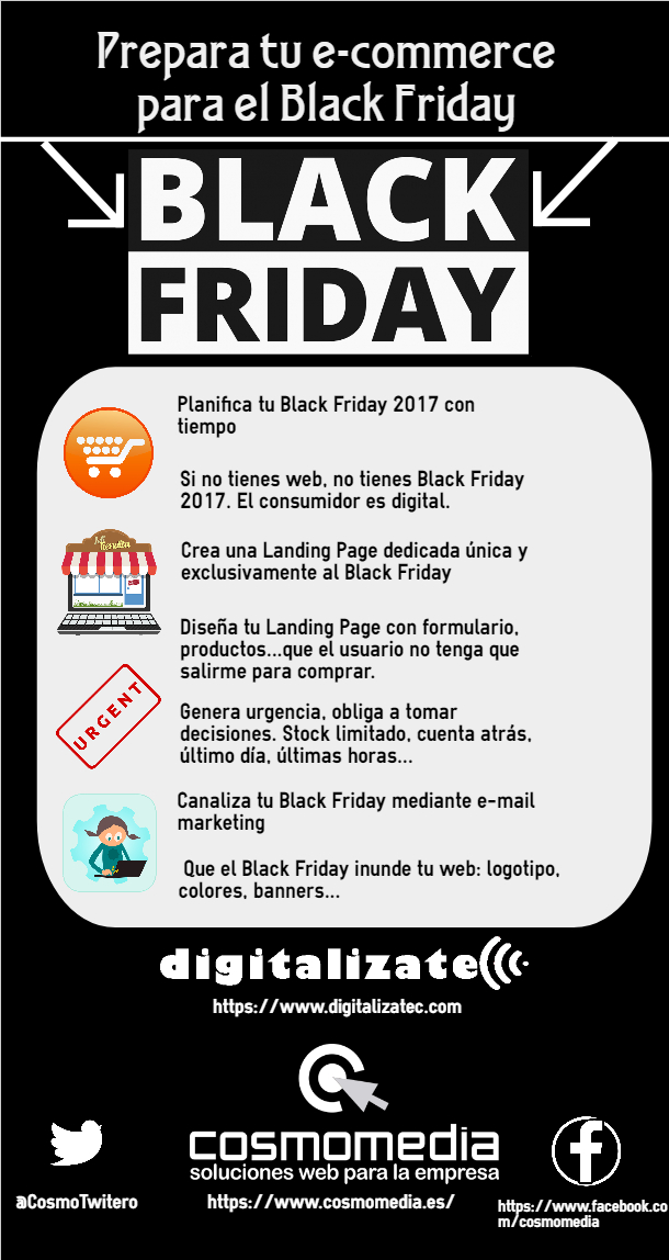 Ideas de Black Friday para tu e-commerce