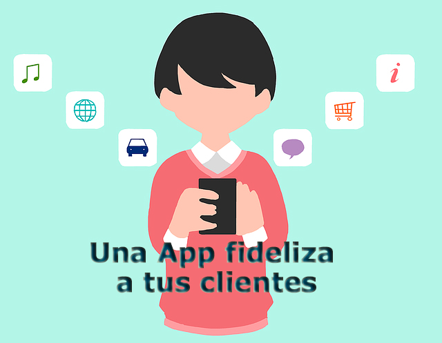 App para fidelizar clientes: marketing digital