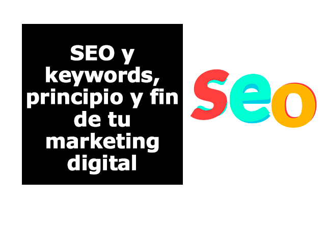 seo y keywords marketing digital