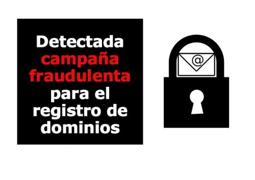 Fraude e-mail registro dominios