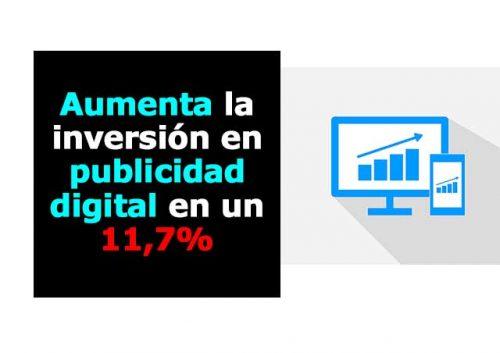 Aumenta el gasto en publicidad digital