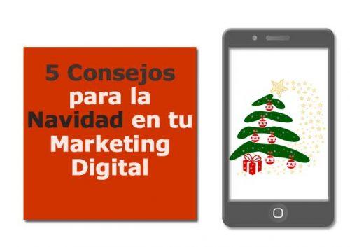 Consejos Navidad Marketing Digital