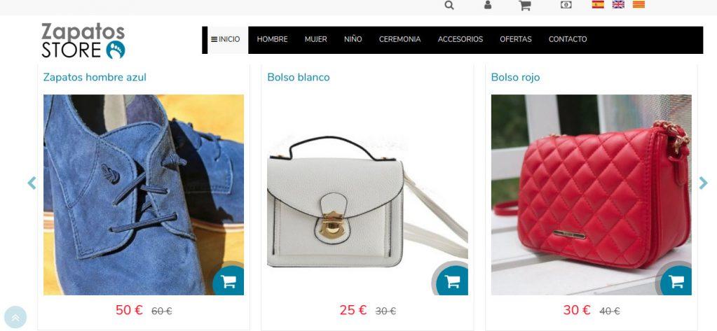 Tendencias diseño web tienda online 2019