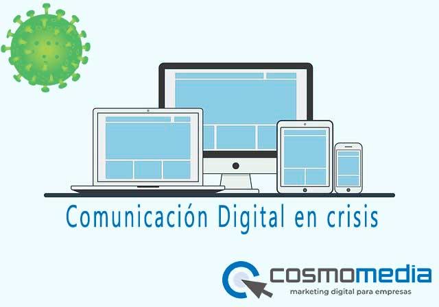 Comunicación digital en crisis