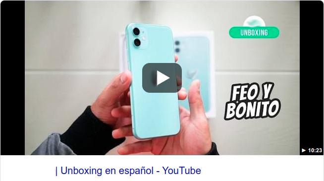 Unboxing ejemplo