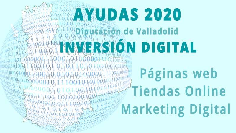 Ayudas Diputación de Valladolid Inversión Digital Pymes